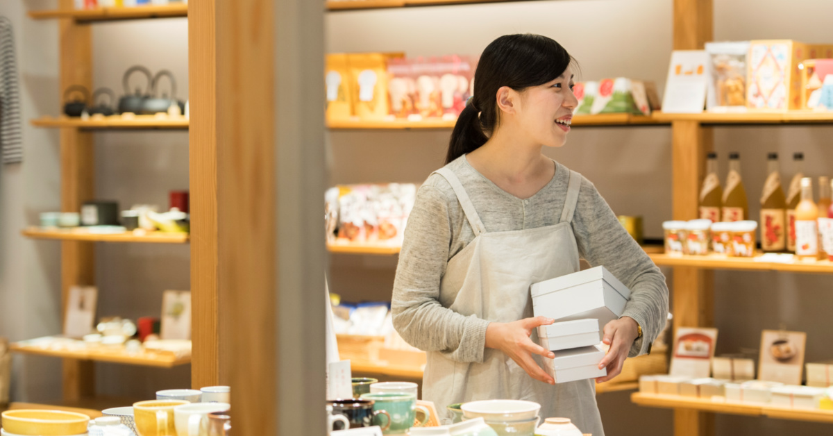 中川政七商店 広島T-SITE店 生活雑貨の販売スタッフ